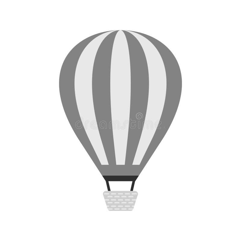 气球飞行热photgrphed显示VA的bealton马戏 向量例证