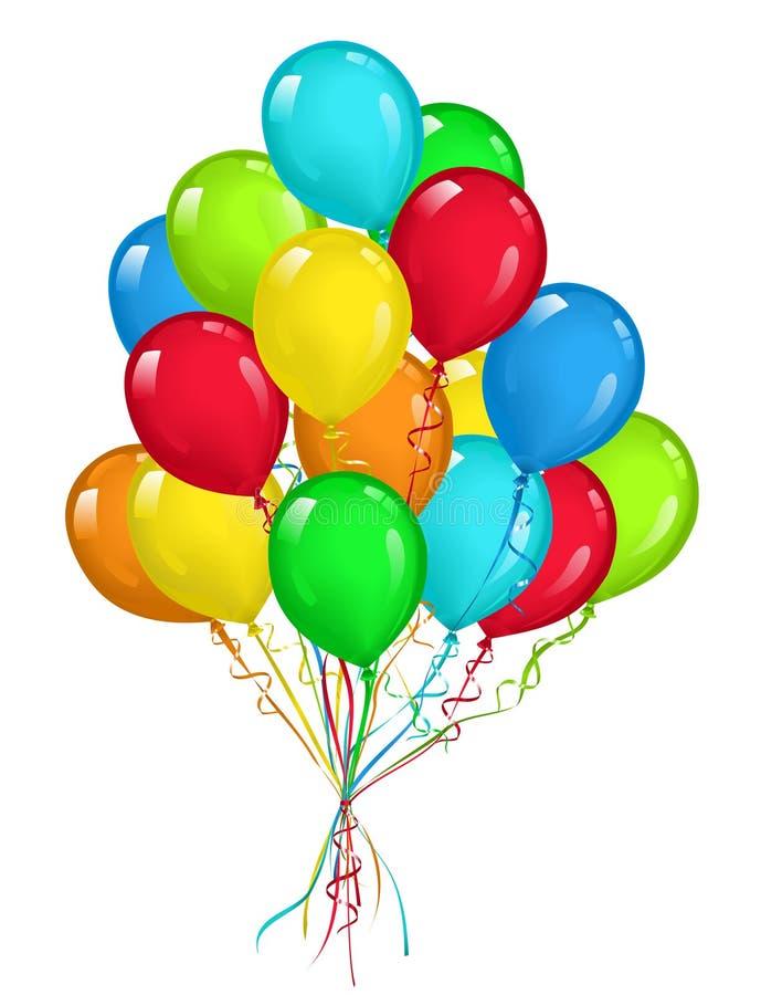气球 皇族释放例证