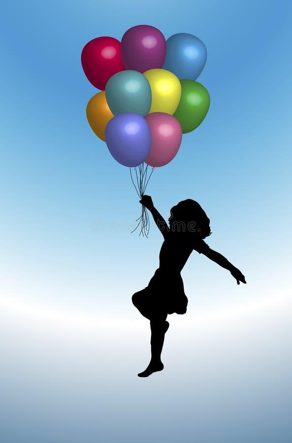 气球3 库存图片