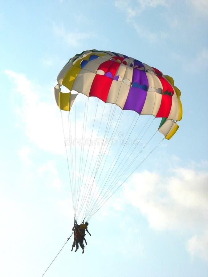 气球iv帆伞运动 库存图片