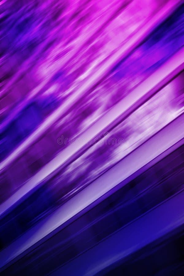氖上色了抽象被弄脏的行动 图库摄影