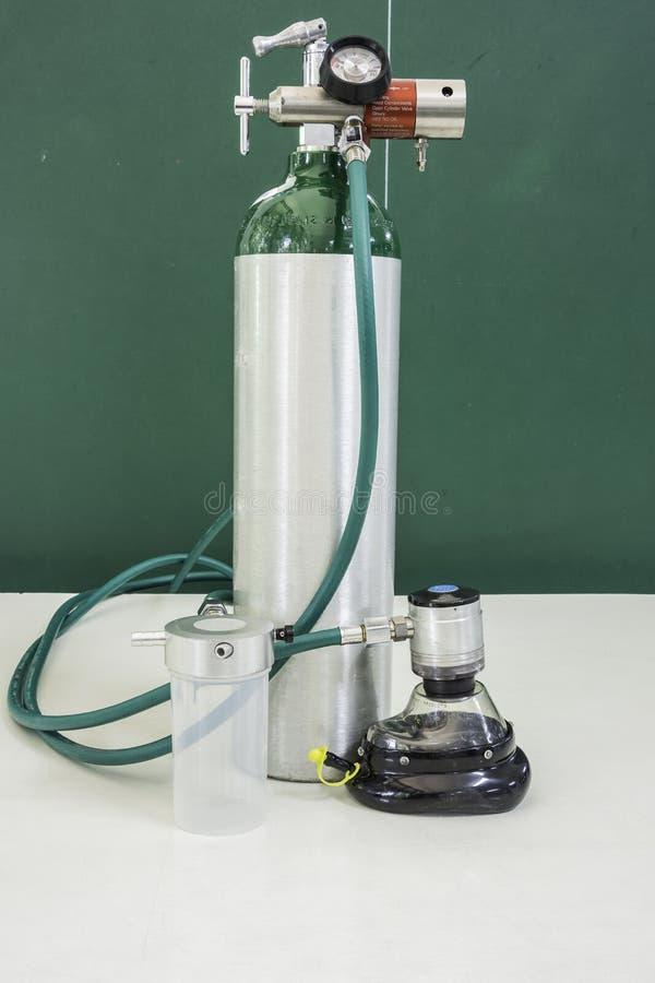 氧气瓶 免版税库存图片