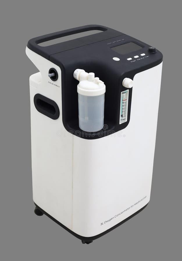 氧气集中器酒吧测量仪测量公升 库存图片