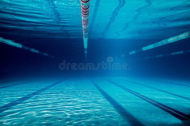 水下的图片的空 库存照片