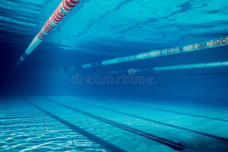 水下的图片的空 库存图片