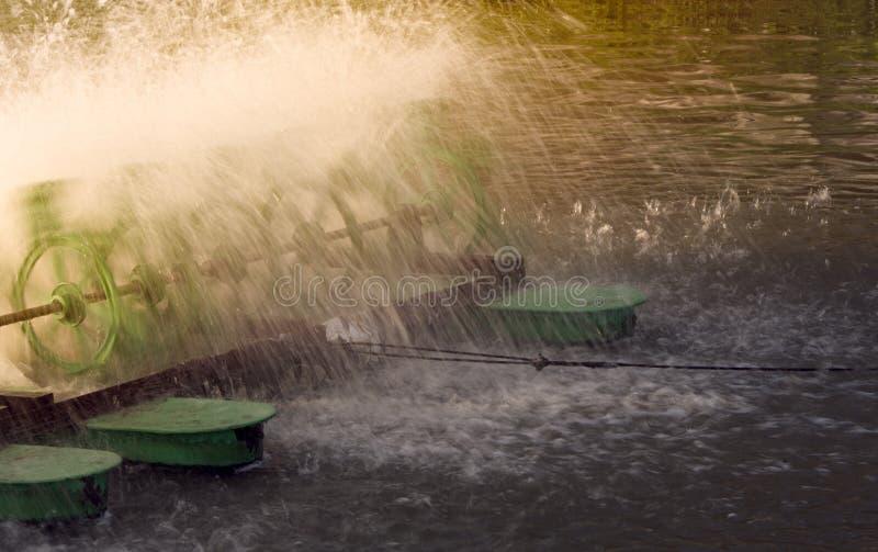 水力透平 免版税库存图片