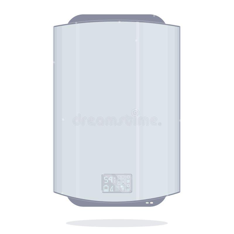 水加热器 向量例证