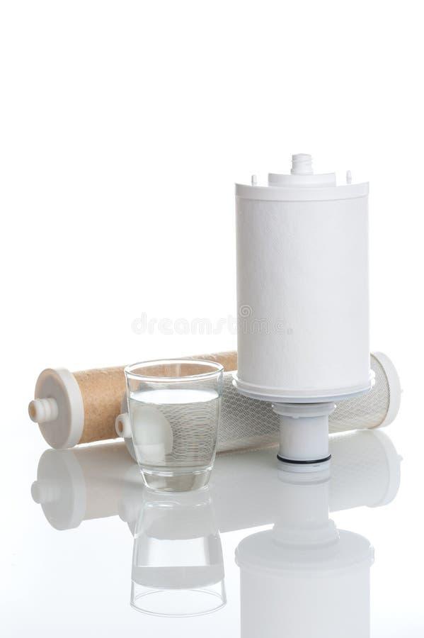 水和滤水器 库存图片