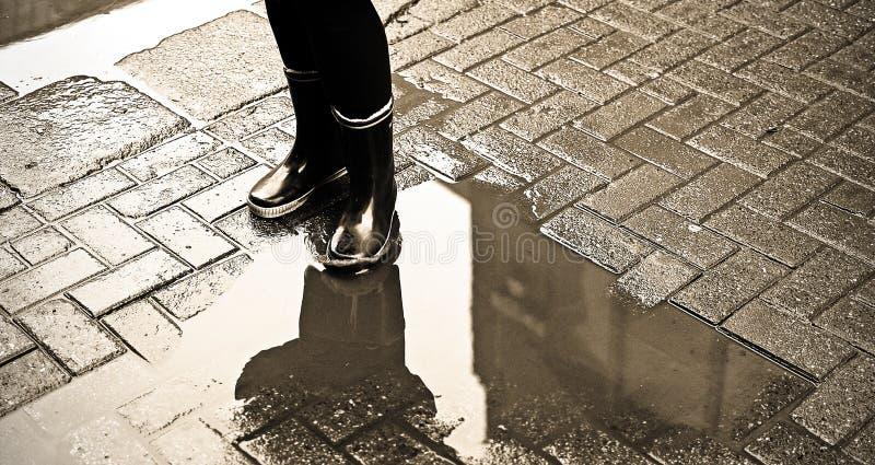 Download 水坑 库存图片. 图片 包括有 街道, 反映, 干燥, 飞溅, 鞋类, 孩子, 人兽交, 重踏, 享用, 天气 - 22353687