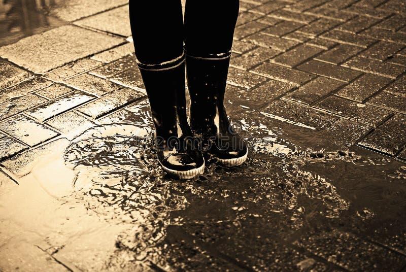 Download 水坑 库存照片. 图片 包括有 城市, 愉快, 英尺, 人兽交, 投反对票, 孩子, 享用, 防水, 街道 - 22353718