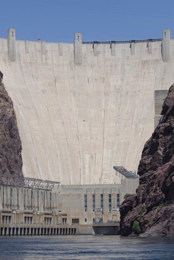 水坝真空吸尘器河 免版税库存图片