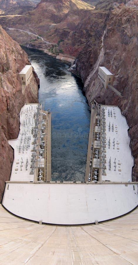 水坝真空吸尘器 图库摄影