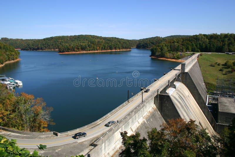 水坝norris 库存图片