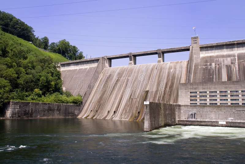 水坝norris 库存照片