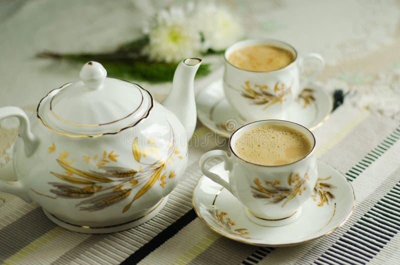 水壶茶 图库摄影