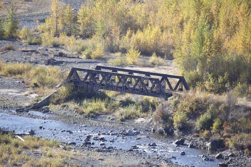 水壶谷铁路桥 免版税库存图片