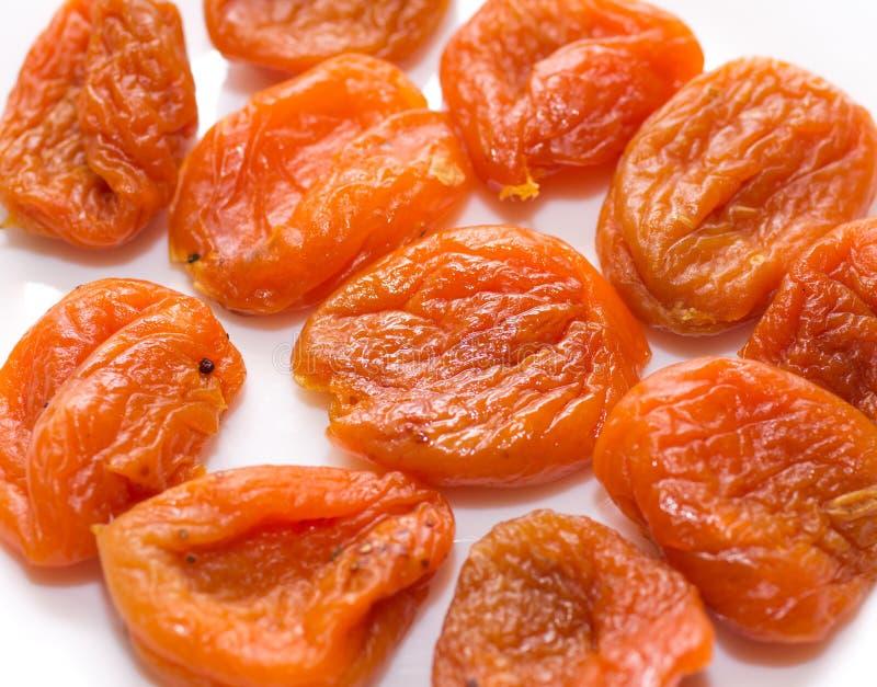 水多的杏干非常有用和 免版税库存照片