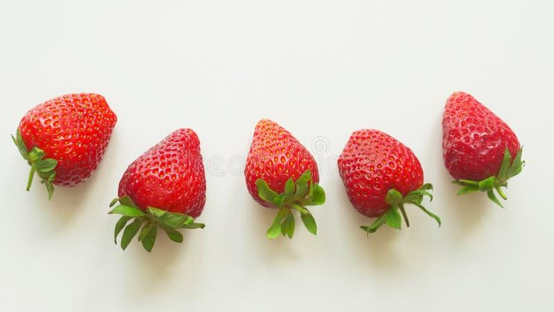 水多的莓果维多利亚002 免版税库存图片