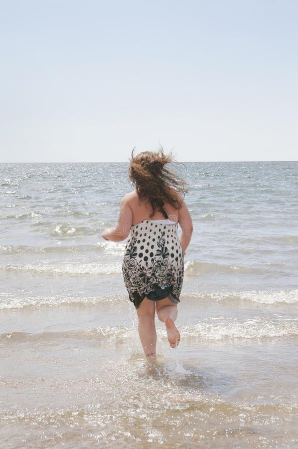 水妇女 免版税库存图片