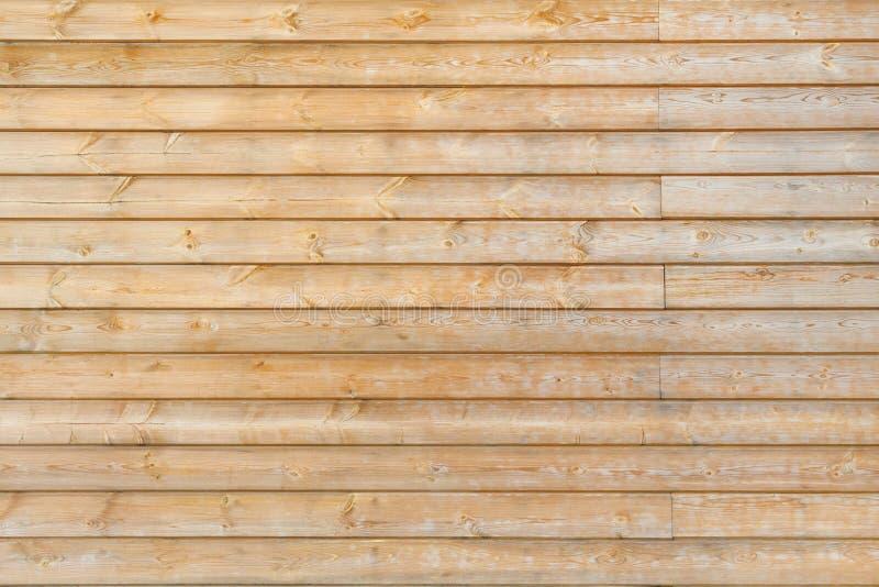 水平的木板条背景,纹理 免版税库存图片