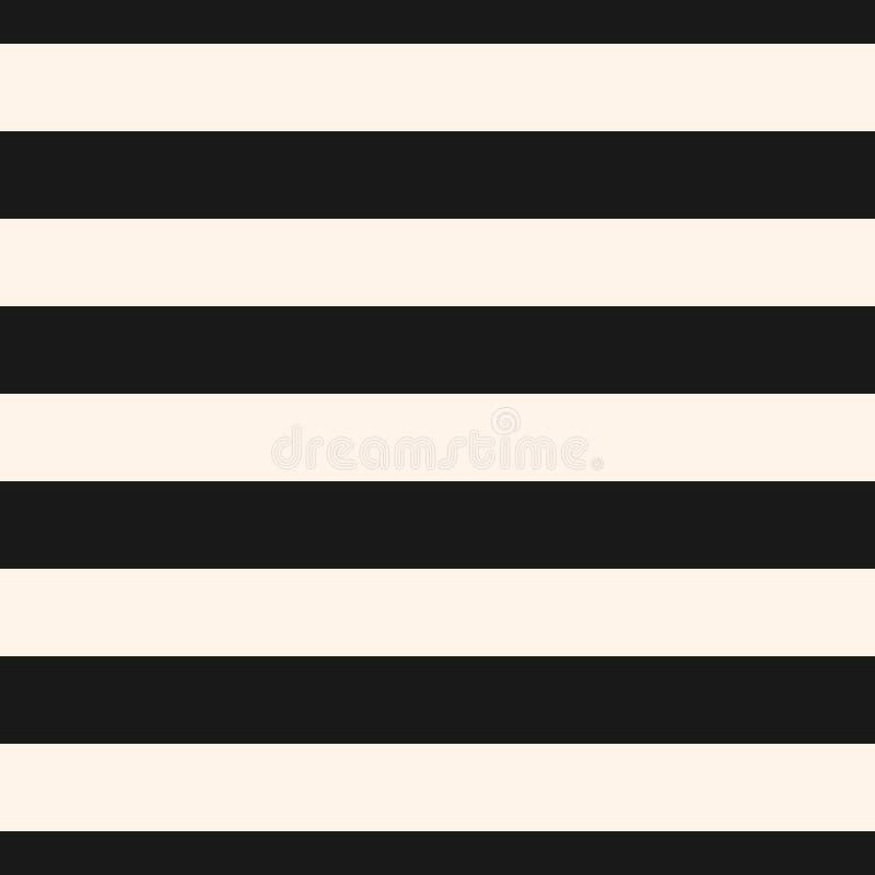 水平的条纹传染媒介无缝的样式 投反对票 向量例证