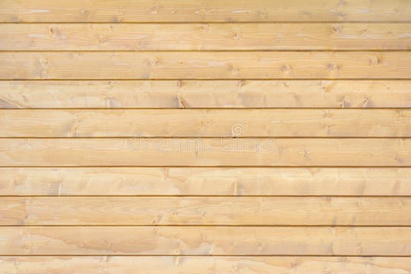 水平的棕色木板条 免版税库存图片