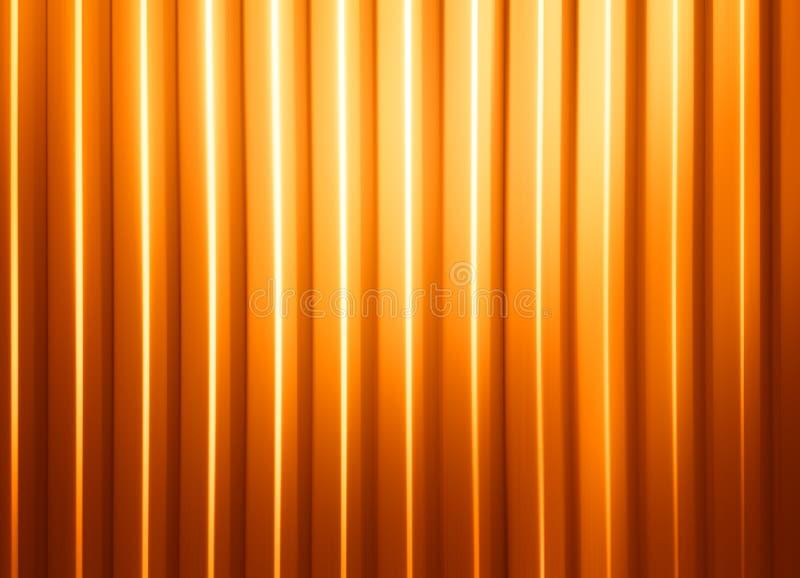 水平的橙色盘区有轻的泄漏例证背景 库存照片