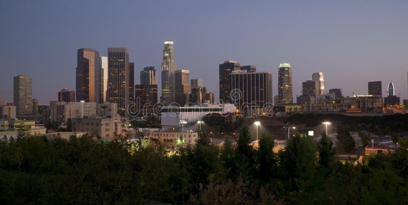 水平的洛杉矶 免版税库存图片