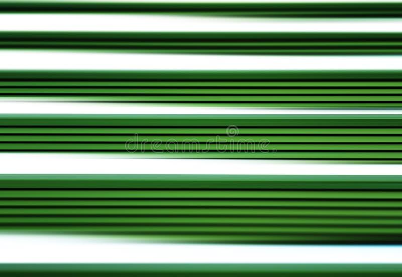 水平的绿色行动迷离线背景 皇族释放例证