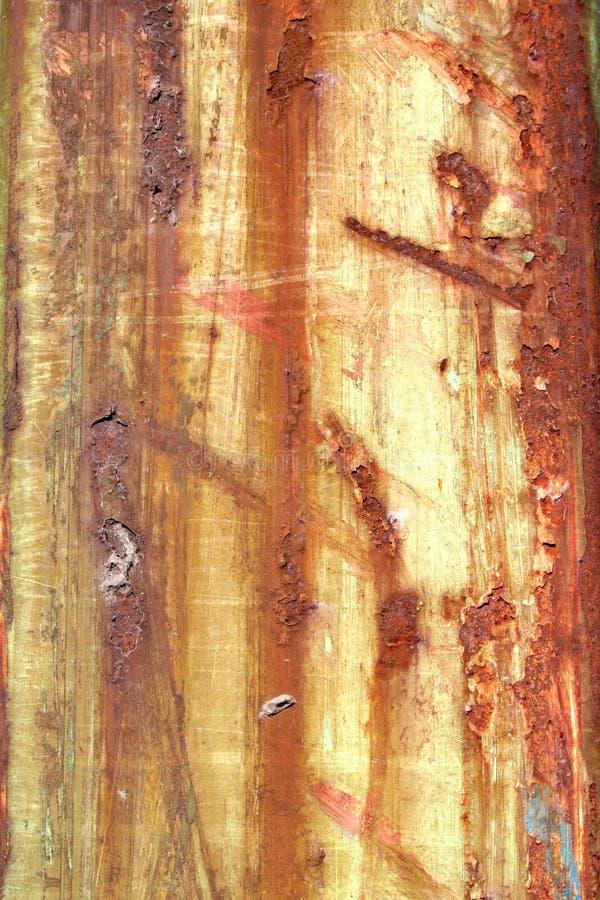 水平的铁锈 免版税图库摄影