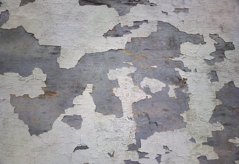 水平的黑白难看的东西墙壁纹理背景 图库摄影