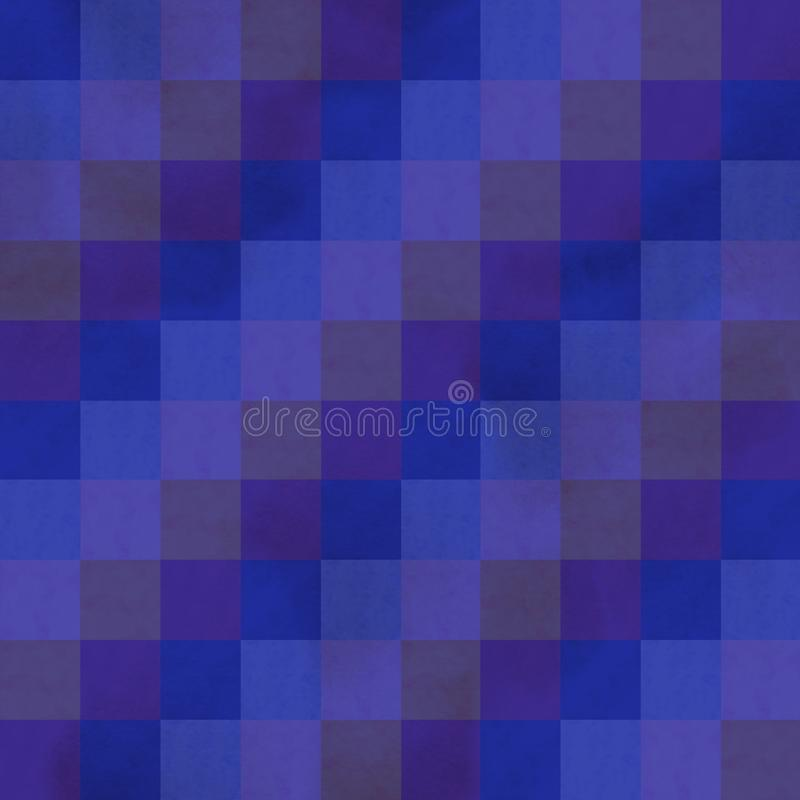 水彩无缝的样式 五颜六色的被绘的水彩一个个 免版税库存照片
