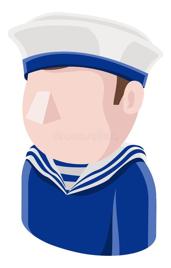 水手人具体化人象 皇族释放例证