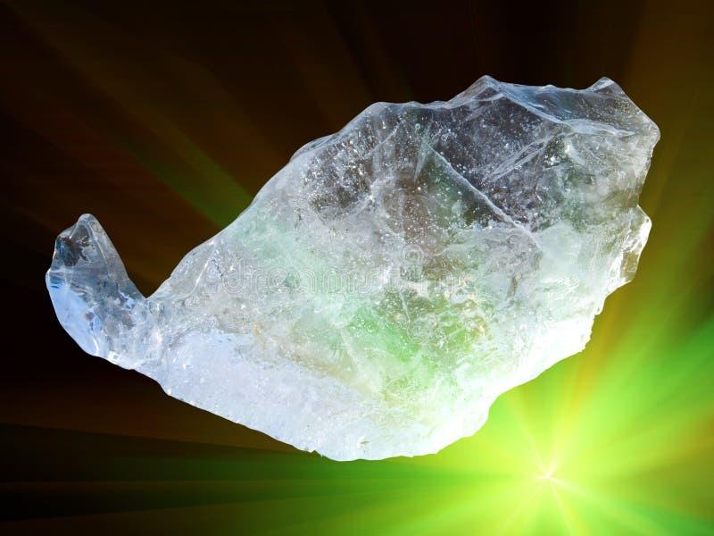 水晶冰 免版税库存图片