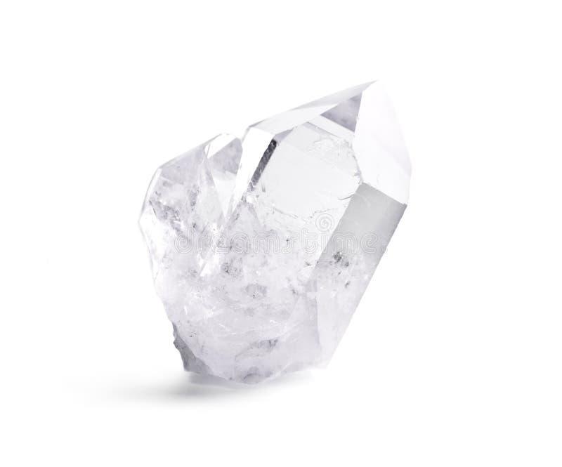 水晶双石英 免版税库存照片