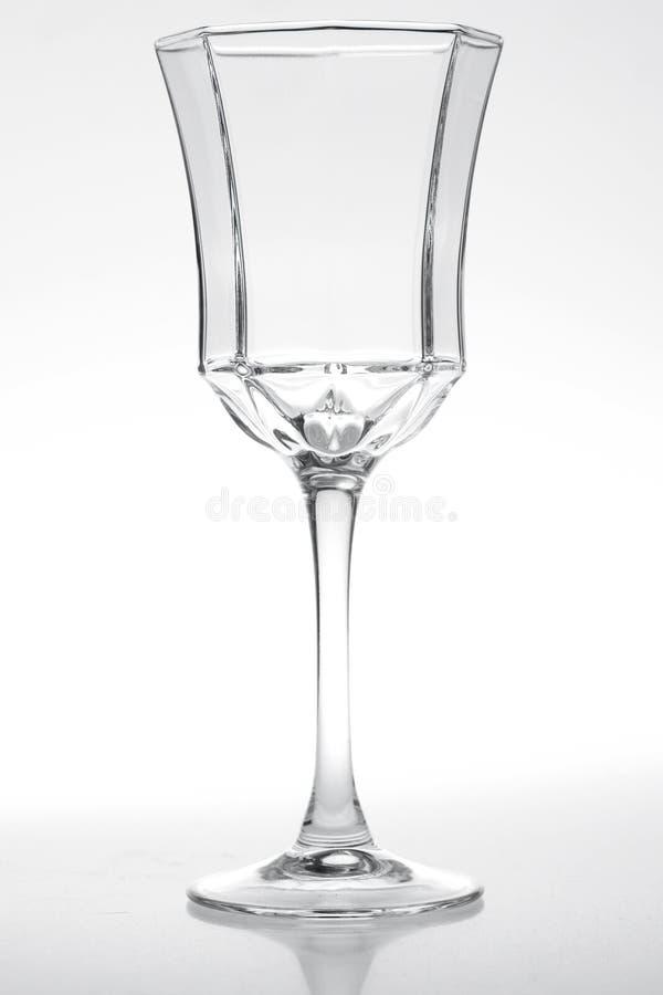 水晶杯子 库存图片