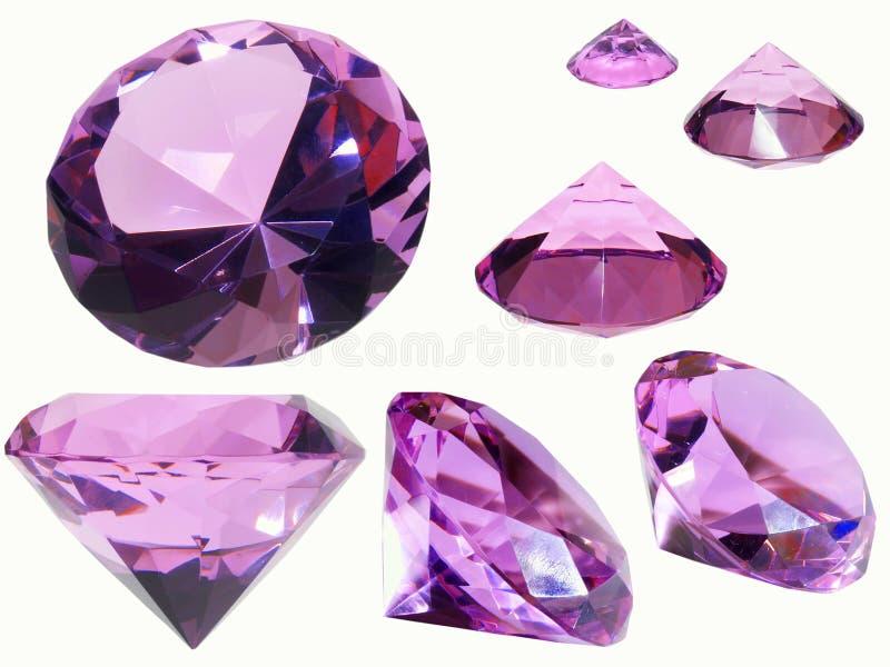 水晶玻璃 免版税库存图片