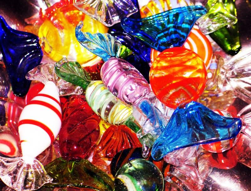 水晶的糖果 库存图片