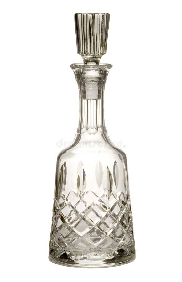 水晶蒸馏瓶 库存图片