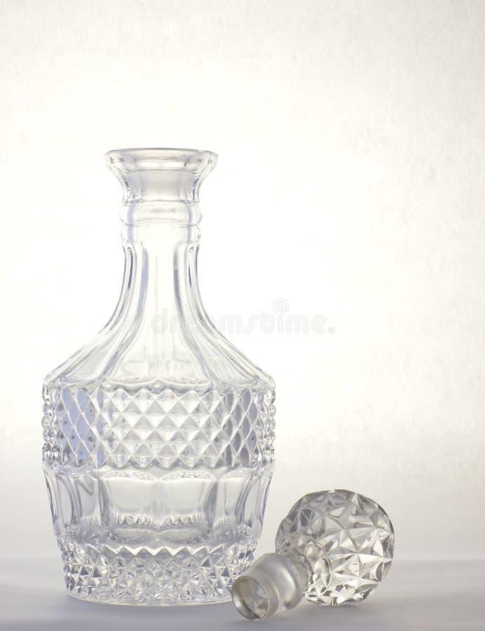 水晶蒸馏瓶 库存照片
