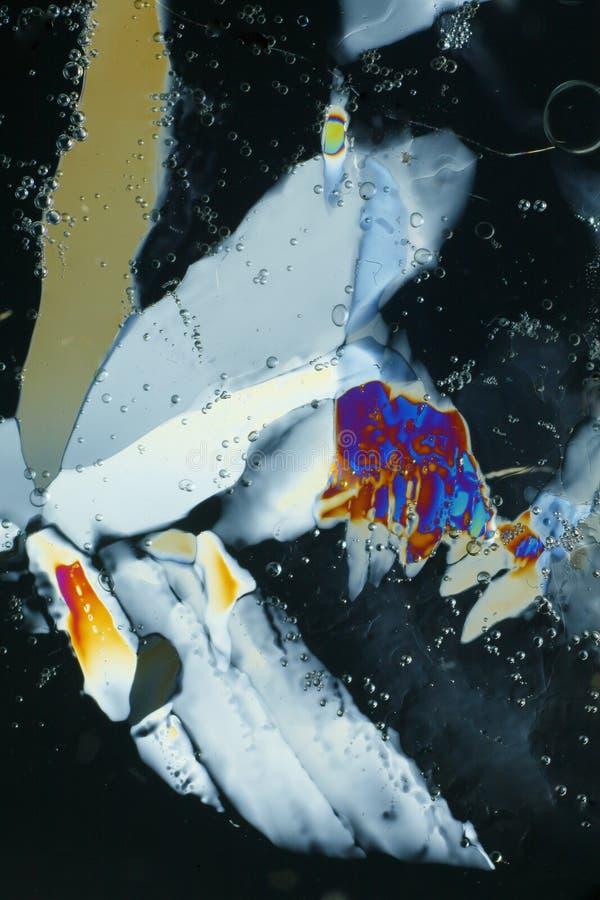 水晶设计冰 库存照片