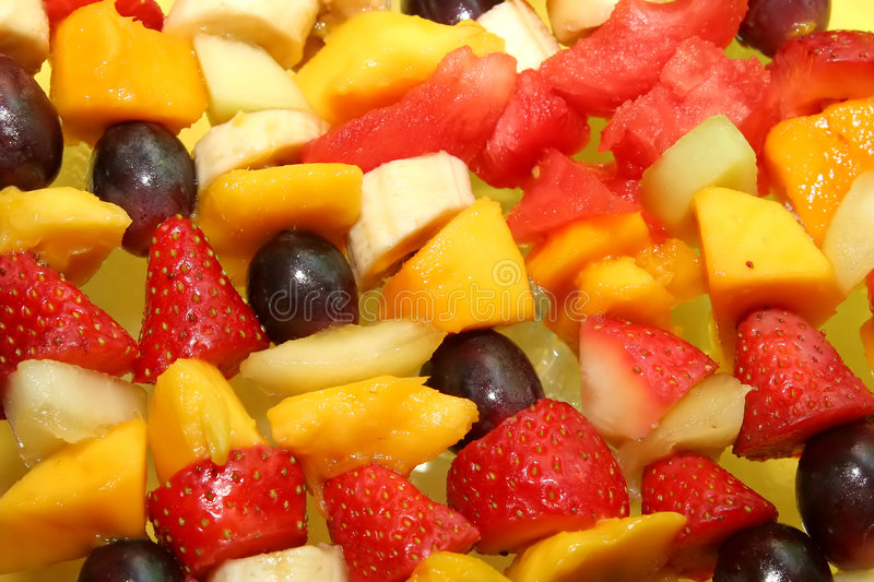 水果的背景 免版税库存图片