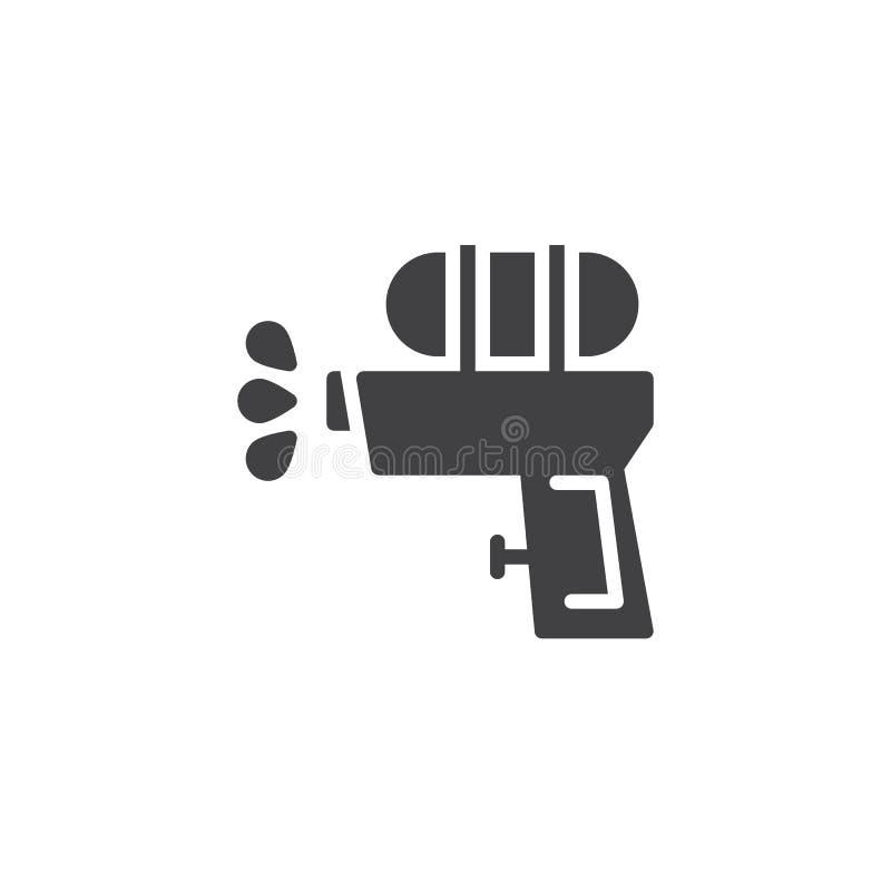 水枪传染媒介象 向量例证