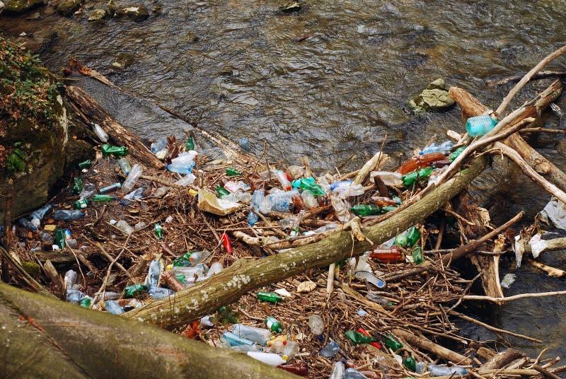 水污染 免版税库存图片