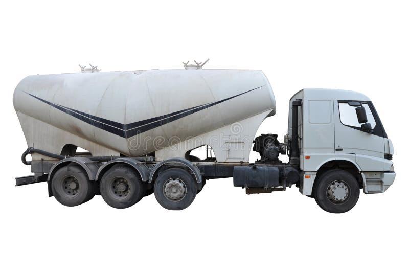 水泥卡车 免版税库存照片