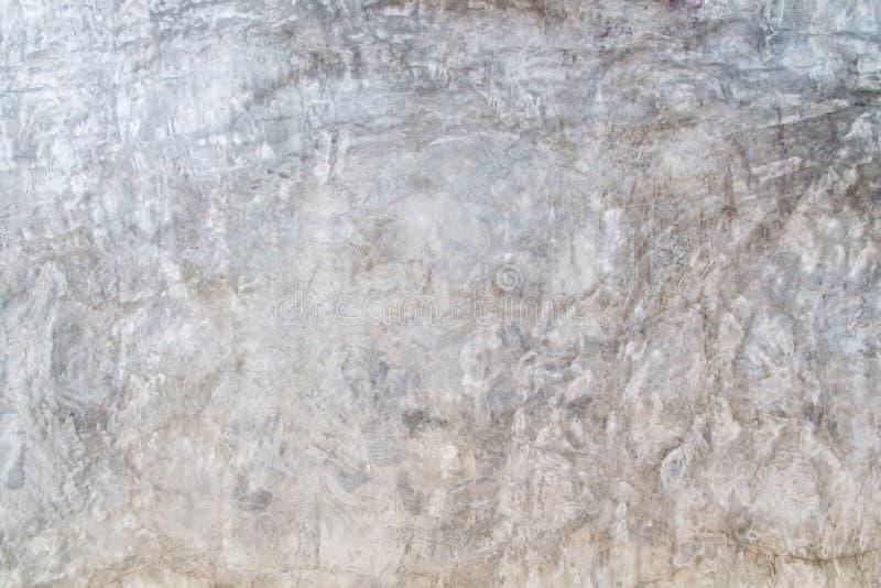 水泥墙壁样式纹理背景,与自然样式的五颜六色的光秃的水泥工作纹理 免版税图库摄影