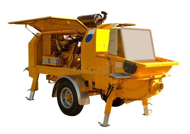 水泥泵 免版税库存照片