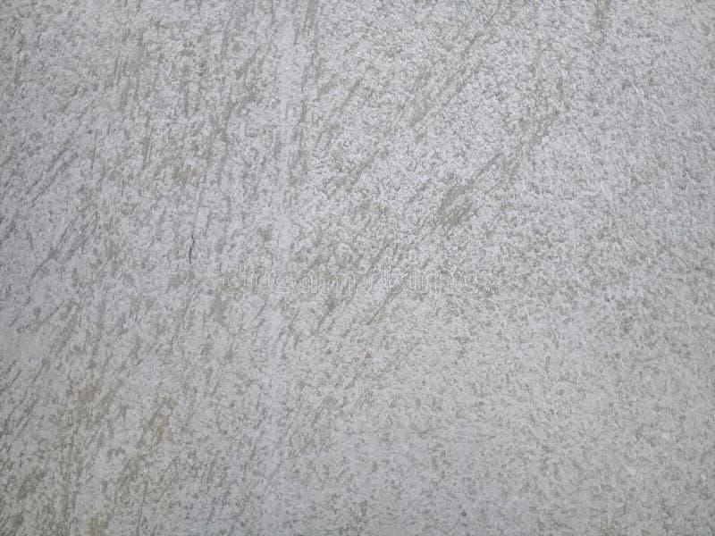水泥老黑白颜色地板墙壁背景 免版税库存图片