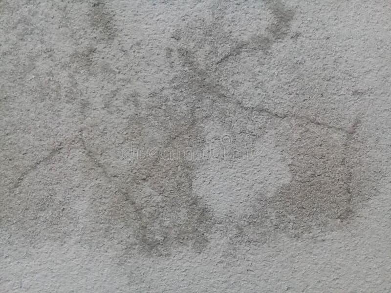 水泥老黑白颜色地板墙壁背景 免版税库存照片