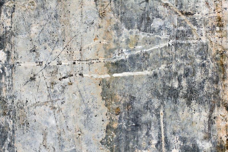 水泥葡萄酒墙壁 免版税库存照片